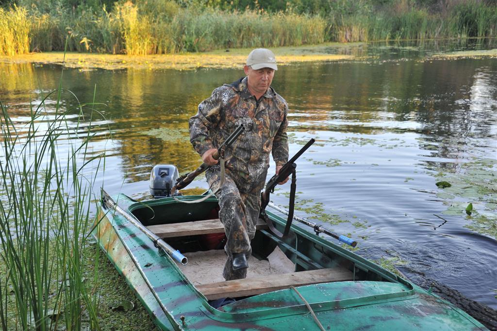 Охотник и рыболов самаре