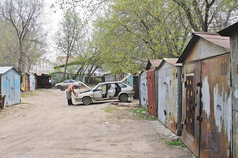 Металлические гаражи незаконно установили готовые гаражи производитель