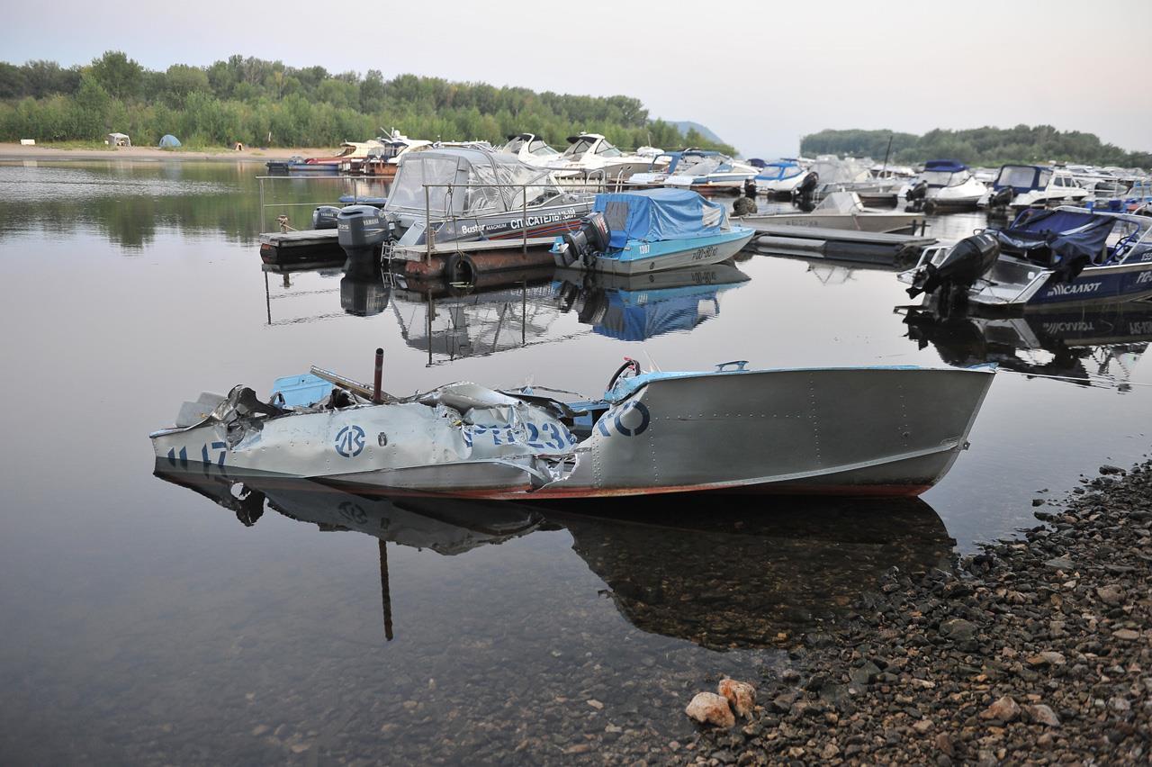 аварии лодок