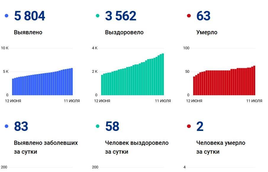 В столице России  скончались еще  37 пациентов скоронавирусом