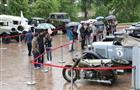 Более 100 раритетных автомобилей ГАЗа были выставлены в Нижегородском кремле