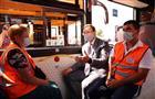 Дмитрий Азаров передал ключи от новых троллейбусов водителям ТТУ Самары