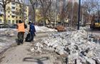 В Самаре Крымскую площадь приводят в порядок после зимы