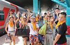 Первая группа самарских ребят отправилась на отдых в Анапу