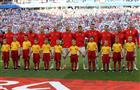 Сборная России по футболу впервые сыграла в Самаре