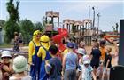 В селе Тимофеевка открыли детский сквер
