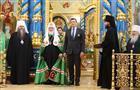 Патриарх Московский и всея Руси Кирилл вручил в Сарове награды православной церкви