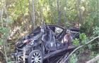 На дороге Отрадный - Богатое пострадали водитель и два пассажира съехавшего в кювет Chevrolet