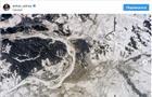 Российский космонавт сфотографировал с МКС заснеженную Самару