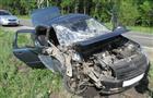 На дороге Сергиевск - Челно-Вершины водитель Lada Granta столкнулся с трактором