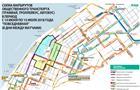 В период ЧМ трамваи №5, 15, 20к, 22 будут следовать по привычной схеме