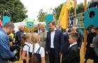 Губернатор осмотрел благоустроенный сквер им. Фадеева и Крымскую площадь