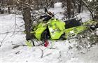В Красноярском районе пострадала водитель снегохода, врезавшись в дерево
