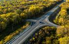 В Исаклинском районе обновили дорогу на Татарстан