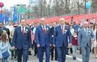 Николай Меркушкин вместе с жителями Самары прошел в колонне в День Весны и Труда