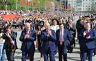 Губернатор Самарской области Николай Меркушкин на Параде Победы