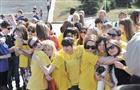 В Самаре у Ладьи добровольцы губернии ярко и празднично открыли двенадцатую «Весеннюю неделю добра»