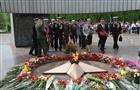 Возложение цветов к Вечному огню в Тольятти накануне 71-ой годовщины Великой Победы