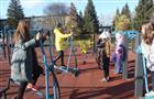В Мокшане открылась новая спортивная площадка