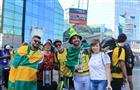 Поезда с болельщиками на матч Бразилия - Мексика прибыли в Самару