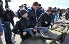 В Бобровке отметили 100-летие войск ПВО