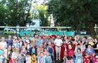 Жители микрорайона №17 в Отрадном дружно отметили Медовый спас