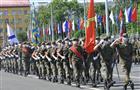 На площади Куйбышева отпраздновали День России