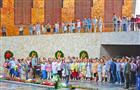 Самарский сводный хор выступил на Мамаевом кургане