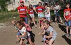 В Чапаевске проходят веселые старты для детей