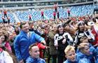 """Более 5 тысяч человек приняли участие в общерегиональной зарядке в рамках международного форума """"Россия — спортивная держава"""""""