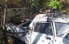 В Жигулевске легковушка врезалась в дерево после столкновения с грузовиком