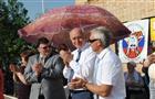 Губернатор открыл легкоатлетическую эстафету в Кротовке