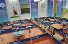 Торжественная церемония открытия XVIII чемпионата России по настольному теннису