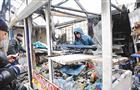 На мини-рынке в Самаре произошел крупный пожар