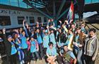 12 мая областная делегация отправилась на Десятые молодежные Дельфийские игры