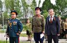 У областного госпиталя ветеранов прошел концерт для героев Великой Отечественной войны