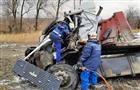 В Самарской области столкнулись МАЗ и КамАЗ, один водитель погиб