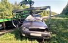В Сызранском районе водитель Volkswagen Touareg столкнулся с двумя машинами