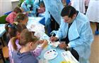 В детском отделении туберкулезного диспансера прошла благотворительная акция