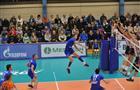 """Волейбольная """"Нова"""" одержала первую победу в чемпионате суперлиги"""