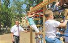 Дети «Солнышка» получили игровую площадку