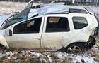 В Челно-Вершинском районе погиб водитель опрокинувшегося в кювет автомобиля