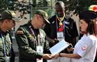 Самарские полицейские познакомили коллег из Колумбии и Сенегала с Дядей Степой