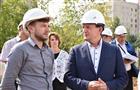 Министр спорта Чувашии проинспектировал ход строительства регионального центра по хоккею