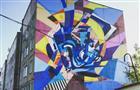 Самарские граффитисты нарисовали картину Айвазовского на фасаде пятиэтажки в Туле