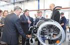В области начался выпуск германских инвалидных колясок