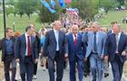 Николай Меркушкин прибыл с визитом в Сакский район Крыма