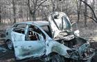 В Красноярском районе автоледи врезалась в газовую трубу, из-за чего произошел пожар