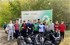 Субботник с раздельным сбором отходов прошел в лесной зоне напротив Тольяттинского государственного университета