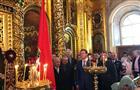 Самарское знамя торжественно передали Богоявленскому кафедральному собору Москвы